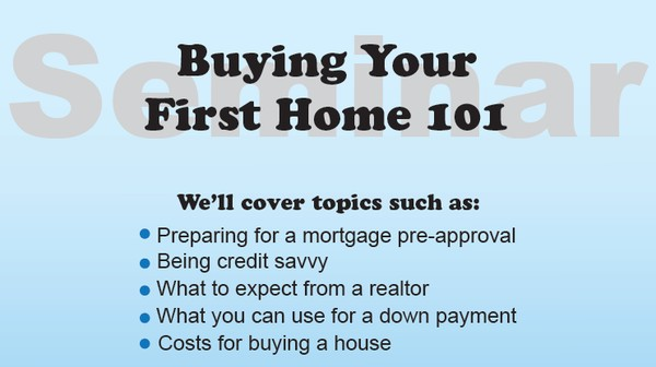 Buying Your First Home Seminar