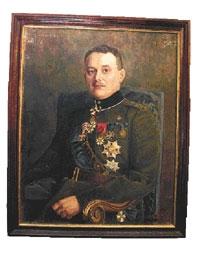 e445e45ce28 Kindral Johan Laidonerist (1884-1953) Eesti Vabadussõja järel tehtud maal  on pärit ratsarügemendi