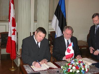 Agreement On Social Security Between Canada And Estonia Estonian