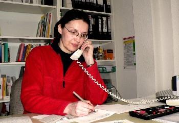 Sabine Pfortner. Foto: Jan Siebert - pics/2006/12588_1.jpg