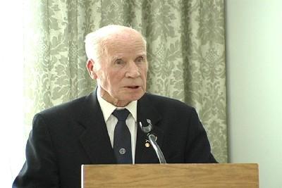 Soome sõjaveteranide Kanada piirkonna esimees kpt. Veikko Kallio - pics/2006/12757_3.jpg