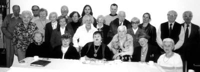 Pildil on EKKT liikmed, kes osalesid organisatsiooni 18. märtsil toimunud 51. aastapeakoosolekul. Foto: Jaak Järve   - pics/2006/12847_1.jpg