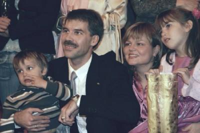 Perekond Aulik. Vasakult: Talis, Sven, Siiri, Kaja.  Foto: perekonnaarhiivist - pics/2006/13442_4.jpg