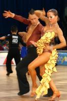Number 64 all tantsisid Jevgeni Privalov ja Tina Bazokina Eestist.  Foto: Jan Siebert   - pics/2006/14330_1_t.jpg