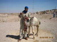 El Jerid.  Berberi poiss kaameliga.     - pics/2006/14548_16_t.jpg