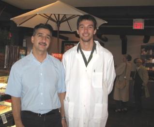 Frank ja Peter Morteza isa ja poja edukas tandem.Foto: EP - pics/2006/14656_2.jpg