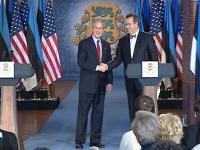 USA presidendi George Bushi pressikonverents Tallinnas Eesti Panga hoones - pics/2006/14731_1_t.jpg