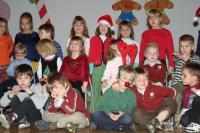 Lapsed laval jõuluvana ootamas.       Foto: T. Mölder - pics/2006/14942_13_t.jpg