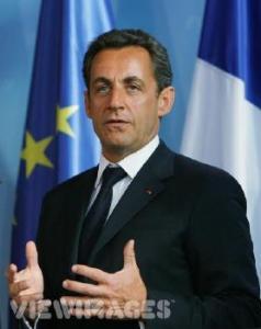 President Nicolas Sarkozy leiab, et Prantsusmaa peamiseks eeltingimuseks  taasühinemisel NATOga oleks USA nõustumine Euroopa sõltumatu kaitsestruktuuriga, milles Prantsusmaal oleks juhtiv osa.  Foto: internetist   - pics/2007/10/17823_1_t.jpg