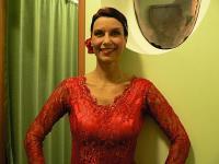 Claudia Shevtshenko on saavutanud flamencotantsus silmapaistva taseme.  Foto: A. Siebert - pics/2007/11/18242_2_t.jpg
