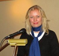 Aktuse peakõneleja Merli Tamtik Eestist. Foto: V. Rannu - pics/2007/12/18404_2_t.jpg