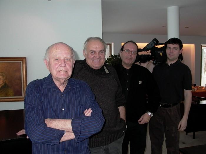 Mr. Elmar Tampõld, Mati Talvik, Peeter Annikvee, Meelis Kadastik. - pics/2007/15550_4.jpg