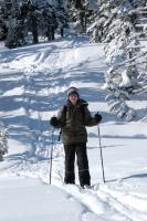 Platoole jõudmine viis Kristjan Naelapea läbi kauni talvise metsatuka.   Foto: Lembitu Malev - pics/2007/15766_3_t.jpg