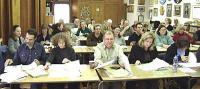 Vaade kursuslastele, kes agaralt õppisid söögi käitlemisreegleid ja -seadusi.     Foto: T. Kütti - pics/2007/16245_2_t.jpg