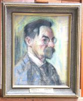 """Teiste tippteoste seas vajab restaureerimist A. Laikmaa """"August Kitzbergi  portree"""". - pics/2007/16431_1_t.jpg"""