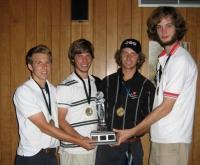 Turniiri võitjameeskond: (vas.) Paul Lemay, Matthew Raudsepp, Greg Halpin ja Alex McCooeye. - pics/2007/17231_2_t.jpg