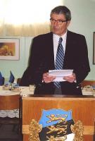 Aktusekõne pidas dr. Martin Puhvel. Foto: T. Sultson - pics/2008/03/19250_2_t.jpg