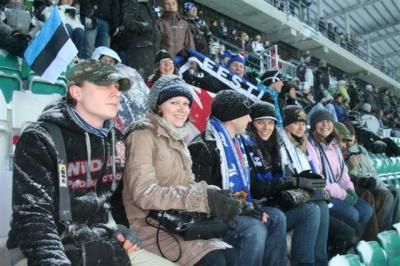 Meie Soome, USA, Eesti, Kanada kirju seltskond. Vasakul Jaakko Lampi ja Marika Ets (Baltimore-Tallinn). - pics/2008/03/19442_11_t.jpg