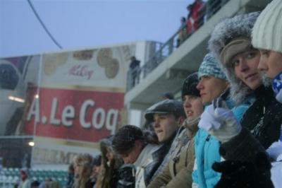 Nagu kõik suured (kallid) spordirajatised, kannab Lilleküla staadion ametlikku (õlle)sponsori nime A. Le Coq Arena. - pics/2008/03/19442_8_t.jpg
