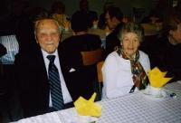 Juubilar Martin Reitav abikaasaga.  Foto: P.R.      - pics/2008/03/19466_2_t.jpg