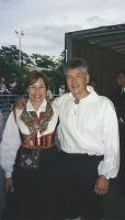 Reet Lindau koos abikaasa Toomasega, kes on teda alati kõigis tema tegemistes toetanud.     - pics/2008/03/19474_1_t.jpg