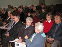 Tänavusele panga aastapeakoosolekule kogunes arvukalt rahvast.         - pics/2008/04/19551_2_t.jpg