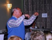 Fotomeenutus 28. aprilli õhtul toimunud eesti kooride ühiselt harjutuselt, kus oli võimalus laulda Eri Klasi juhatusel. Foto: Ilme Lillevars - pics/2008/05/19834_1_t.jpg