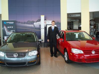 Volkswageni autod on saanud meedias suurt heakskiitu ja paljud on nendele lojaalsed, kinnitab Maris Ernstsons. Foto: K. Tensuda - pics/2008/05/19852_2_t.jpg