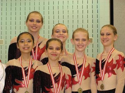 "Pildil ""Ritmika"" tublid võitjad: Mari Pikkov, Juliana Scherzer, Amy Wall, Sarah Beko, Christina Chong ja Cecelia Salcedo. - pics/2008/05/19935_1_t.jpg"