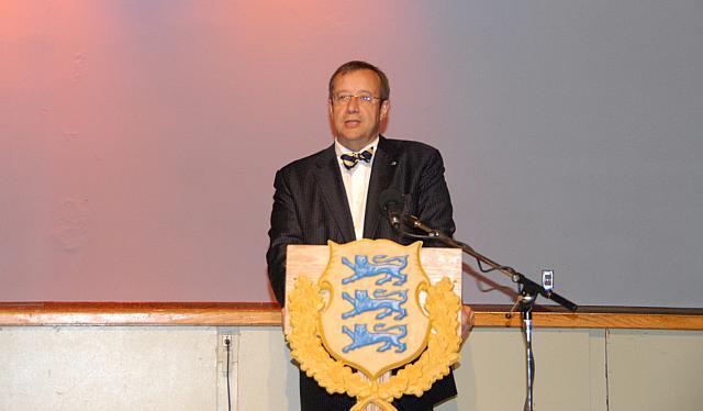 Eesti Vabariigi President Toomas Hendrik Ilves. - pics/2008/05/19960_13.jpg