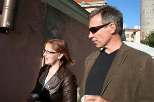 Torontost Tallinnas juba enam kui aasta: Taimi Marley ja Tarmo Lõbu. - pics/2008/07/20320_26_t.jpg