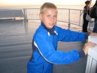 Jäähokipoiss Olev Kork, kes sai hiljuti 11-aastaseks.   - pics/2008/08/20528_1_t.jpg