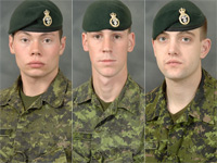 * Cpl. Andrew Grenon    * Cpl. Mike Seggie    * Pte. Chad Horn  - pics/2008/09/20873_2.jpg