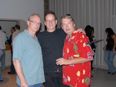 Kolm tegijat eesti ameerika rokis Peeter Kopvillem, Mati Keerd ja Raoul Langvee. - pics/2008/09/20967_7_t.jpg