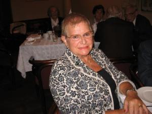Kaugeim külaline Helle Ungerson-Williams Floridast.  Foto: E. Purje      - pics/2008/09/21117_2_t.jpg
