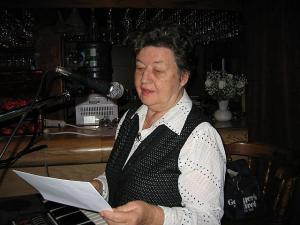 Saima Varangu jagab Eesti-reisi muljeid.  Foto: E. Purje - pics/2008/09/21117_3_t.jpg
