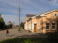 Viljandi raudteejaam.  Foto: Viido Polikarpus     - pics/2008/10/21165_1_t.jpg