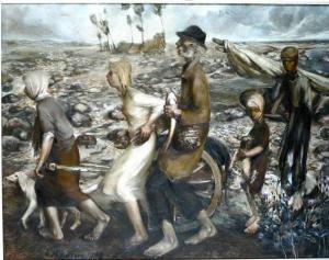 Pime. 1938. Õli, lõuend.  Tartu Kunstimuuseum.       - pics/2008/10/21348_1_t.jpg