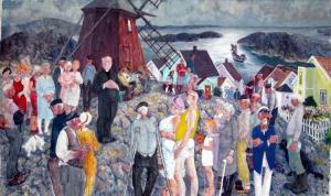 Mäejutlus (Püha veski). 1986. Õli, lõuend. Erakogu, Rootsi.  Tartu Kunstimuuseum. - pics/2008/10/21348_2_t.jpg