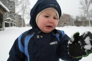 """""""Mis jama see on?"""" küsis mõni väike, kes nii palju lund nägi esimest korda elus. - pics/2008/11/21842_5_t.jpg"""