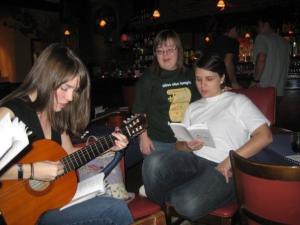 Lauldi..          They sang...(Aili Sarapik, Merike Kangro, Liisi Vanaselja). - pics/2008/12/21915_28_t.jpg