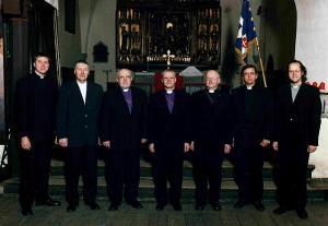 Fotol (vasakult) Urmas Viilma, Mati Maanas, Einar Soone, Andres Põder, Tiit Salumäe, Joel Luhamets, Ove Sander. Foto: arhiiv. - pics/2008/12/21936_1_t.jpg