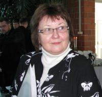 Sirje Semm Valgas toimunud misjonipäevadel. Foto: Eesti Kirik - pics/2008/12/21941_2_t.jpg