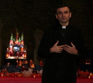 Eesti katoliku kiriku piiskop Philippe Jourdan. - pics/2008/12/22062_5_t.jpg