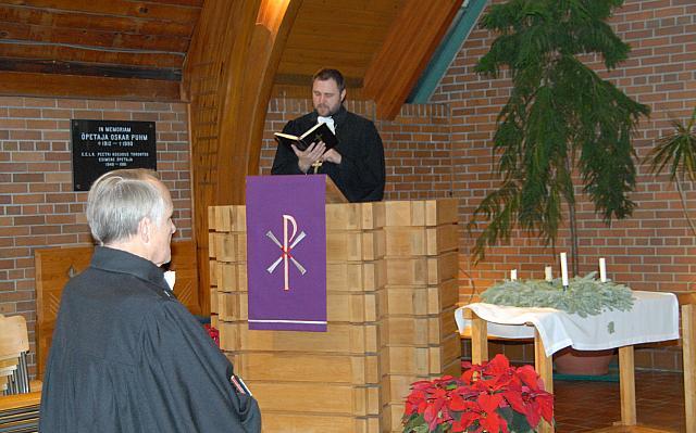 Teenisid E.E.L.K. Peapiiskop Andres Taul ja õp. Ants Tooming - pics/2008/12/22229_3.jpg