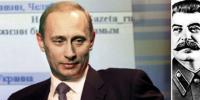 Foto: Reuters, Scanpix     Vladimir Putin (bilden) och Dmitri Medvedev har lyckats återupprätta Stalin, något som hans föregångare aldrig vågade sig på , - pics/2008/12/22251_2_t.jpg