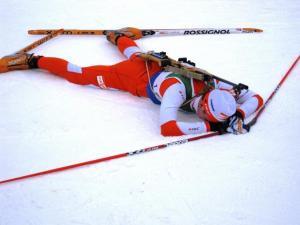 Martin Remmelg pärast Canmore¹i juunioride MM-i etapi läbimist.  Foto:  Helgi Leesment   - pics/2009/02/22809_2_t.jpg