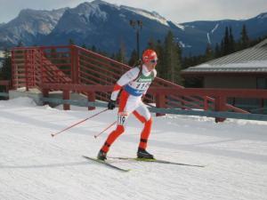 Tõnis Uiboupin läbimas Kaljmumägedes MM-i võistlusrada.  Foto: Enn Tiislar   - pics/2009/02/22809_3_t.jpg
