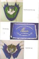 Mõned korporatsioonide lipud.  Foto: raamatust - pics/2009/03/23024_2_t.jpg
