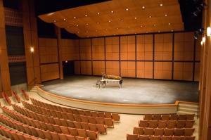 Suurepärase akustikaga P.C. Ho Theatre'i sisevaade.  Foto: keskuse võrgulehelt - pics/2009/03/23087_3_t.jpg